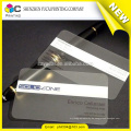 Handelsversicherung hochwertige transparente Kunststoff-Visitenkarte