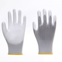 Solid Color Breathable Non-slip PU Work Gloves