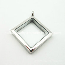 2015 Custom Stainless Steel Glass Fashion Locket Pendant Jewelry