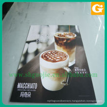Used in the coffee shop sales promotion