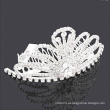 Accesorios para el cabello oriental barato tiara barrettes de pelo