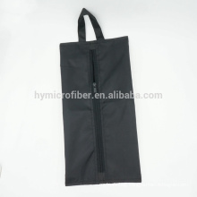 Polyester waterproof household shoe package zipper bag