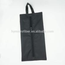 Полиэстер водонепроницаемый обувной пакет бытовых мешок застежки-молнии