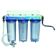 Water Filter, Made of ABS, Cartridge Can Remove Odor, Smell, Color and Even Organic Chemicals