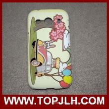 Caixa do telefone móvel de plástico de sublimação para Samsung Galaxy Ace3