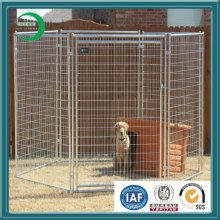 Dog Kennel Chain Link Kennel Welding Mesh Kennel, Pet Safe Galvanized Dog Kennel