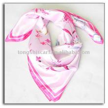 Весенняя мода сатин шарф 2014