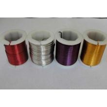 Bunte PET-Pulverlackierung Metallbindungsdraht (XS-131)