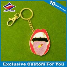 Custom Fashionable Animals Metal Keychain, Reflective Keychain
