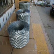 Malha de trabalho de bloco de aço galvanizado