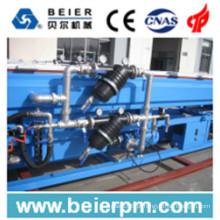 Linha de alta velocidade da máquina da produção da extrusão / extrusora plástica da tubulação do PE / PP / HDPE / PP-R