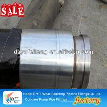Junjin dn125 * 4 m tuyau d'extrémité DN100 * 1 M chinois en acier industriel fil renforcé béton pompe et tuyau fouet