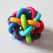 Индивидуальная резиновая интерактивная жевательная игрушка для домашних животных