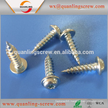 China wholesale market agents pan flanged head self tapping screw