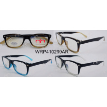 Double Colour Eyewear Fashionable Hot Selling Reading Glasses (000004AR)
