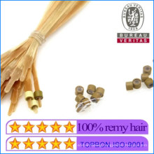 High Quality Human Hair Virgin Hair Remy Hair Special I-Tip Hair Extensions with Nano Beads