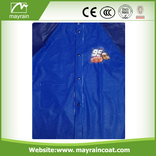 PVC School Raincoat for Children