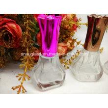 Bouteille de parfum en verre de style nouvelle conception avec capuchon personnalisé