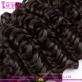 Qingdao fornecimento de fábrica grau 7a kinky curly 100% cabelo europeu virgem