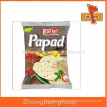 Freie Probe heiße Verkauf Plastikheißsiegelbare Imbißnahrungsmittelbeutel in Guangzhou