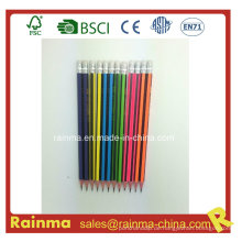 Hexagonal Strip Barrel Holz Bleistift mit hoher Qualität