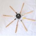 Cepillo de dientes de bambú 100% biodegradable de la naturaleza del producto