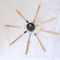 100% биоразлагаемый продукт природы бамбука зубная щетка