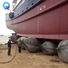 Ponton flottant gonflable de sauvetage de bateau fabriqué en Chine