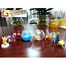Brinquedo de venda quente brinquedo de plástico casca de ovo brinquedo cápsula de ovo