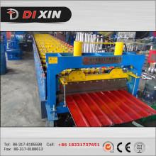 Automatische farbige Stahldachblech Rollenformmaschine zum Verkauf