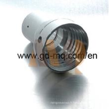 Partie tournante de usinage de commande numérique par ordinateur et composant en aluminium de lentille (MQ2082)