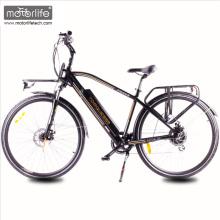 Energía verde Nuevo diseño 36V350W 8fun motor ciudad bicicleta eléctrica con batería oculta hecha en china