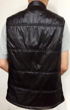 Down fur jacket vest waistcoat