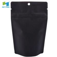 Оптовая матовые черные ламинированные пакеты из фольги