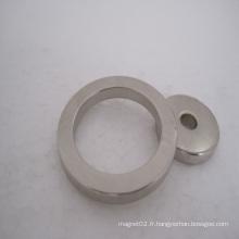Aimants permanents de néodyme d'anneau pour le moteur pas à pas (N35-N52)