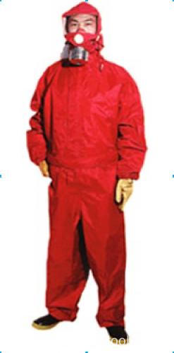 Heavy-duty gas chemical protective suits