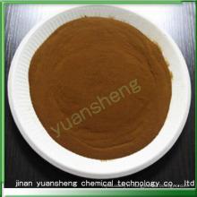 Lignosulfonate de sodium comme mélange de béton