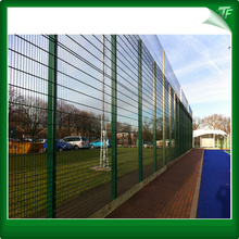 DUO6 steel twin bar fencing panels