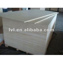 Contraplacado de álamo em 1220 * 2440mm (núcleo de álamo) para exportação