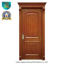 Vereinfachte europäische Art-feste hölzerne Tür für Innenraum (ds-8015)