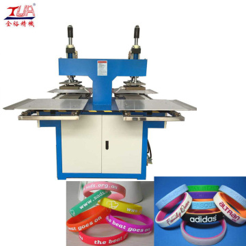 Hadiah Piala Dunia Silicon Wristband Embossing Machine