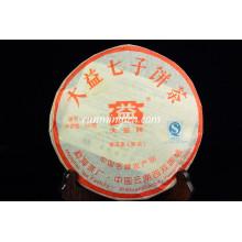 2007 Menghai Dayi 7262 Сжигающий жир чайный пирог Пуэр