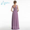 Comfortable Lace Sashes Chiffon Sleeveless Bridesmaid Dresses