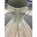 2018 New Wedding Dress Princess Lace Bridal Dress Custom Made In China