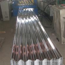 Feuille en aluminium gaufré pour toiture