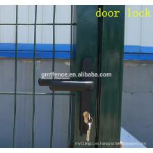 Alas casa ventana parrilla diseños pvc revestido soldado malla de alambre puerta de la cerca
