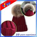 Custom Blank Acrylic Knitted Beanie Winter Hat