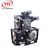 Compresor de aire de refuerzo estable con refrigeración por viento