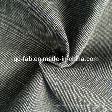 Baumwoll Leinen Garn gefärbtes Gewebe (QF13-0735)