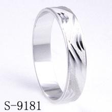 Anillo de la boda / de compromiso de la plata esterlina de la manera 925 (S-9181)